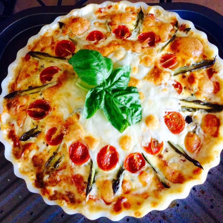Crustless Quiche – Syn Free on Slimming World