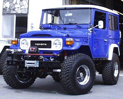 Fj40 In Blue Fj40 Toyota Fj40 Fj40 Landcruiser