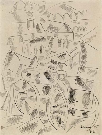 Fernand Léger, Caissons Argonne