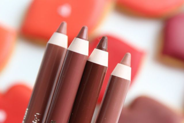 Clarins Nude Lipliner Pencils Review Swatches