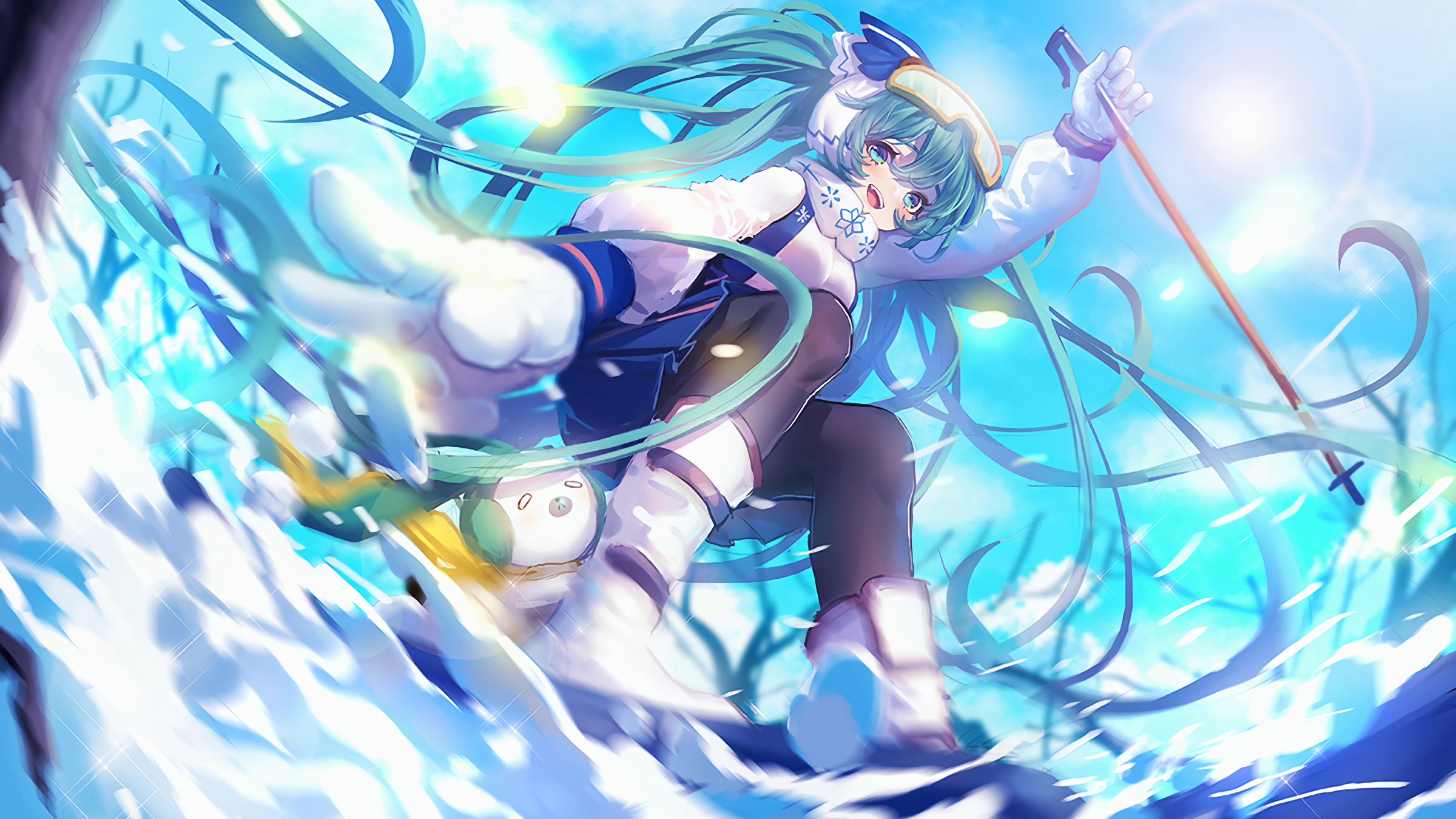 kaot quao ha¬nh aonh cho snow miku 2016 wallpaper