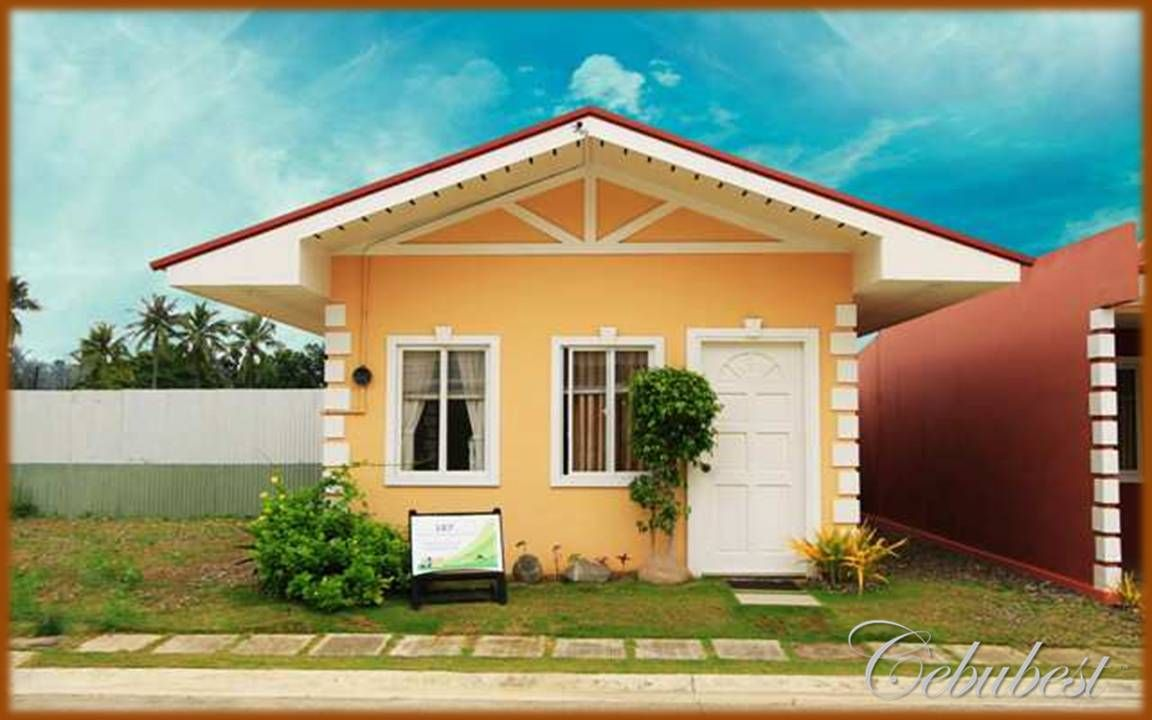 Small House Modern Zen Design Philippines The Elements Of This Bungalow House Is Very Co Bungalow House Design Zen House Design Small House Design Philippines