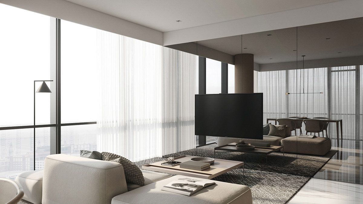 Home Designing 4 Examples That Masterfully Show Us How Contemporary Designers Furn Modern Minimalist Interior Minimalist Interior Design Minimalist Interior Minimalist modern home open dining room