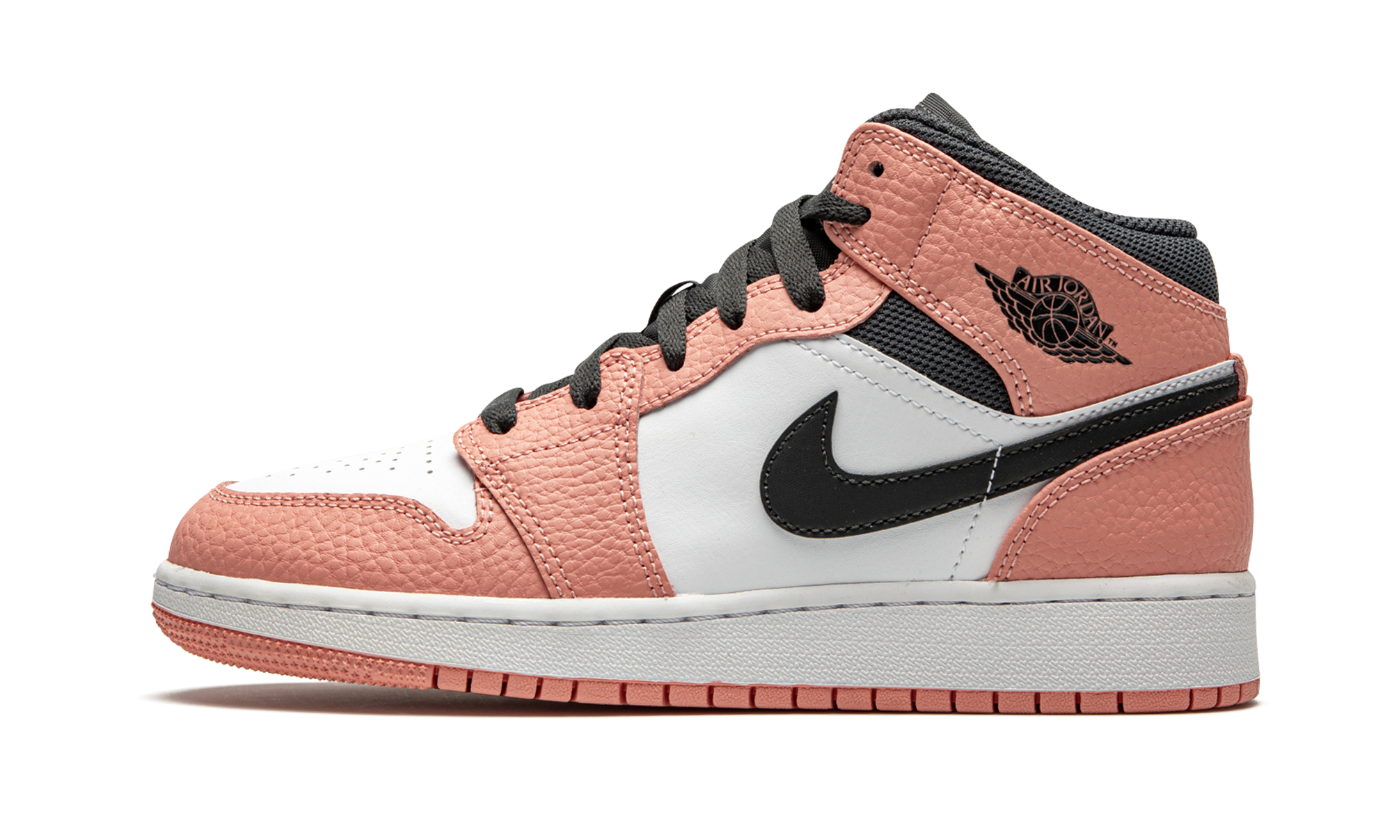 "Air Jordan 1 MID (GS) ""Pink Quartz"" 555112 603 2020 in"