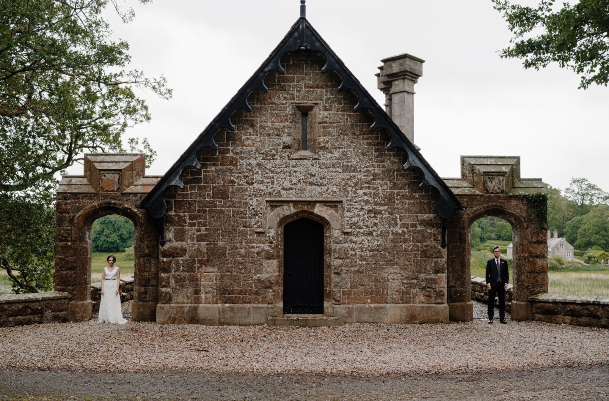 Intimate Crom Castle Wedding Creative Weddings Blog in
