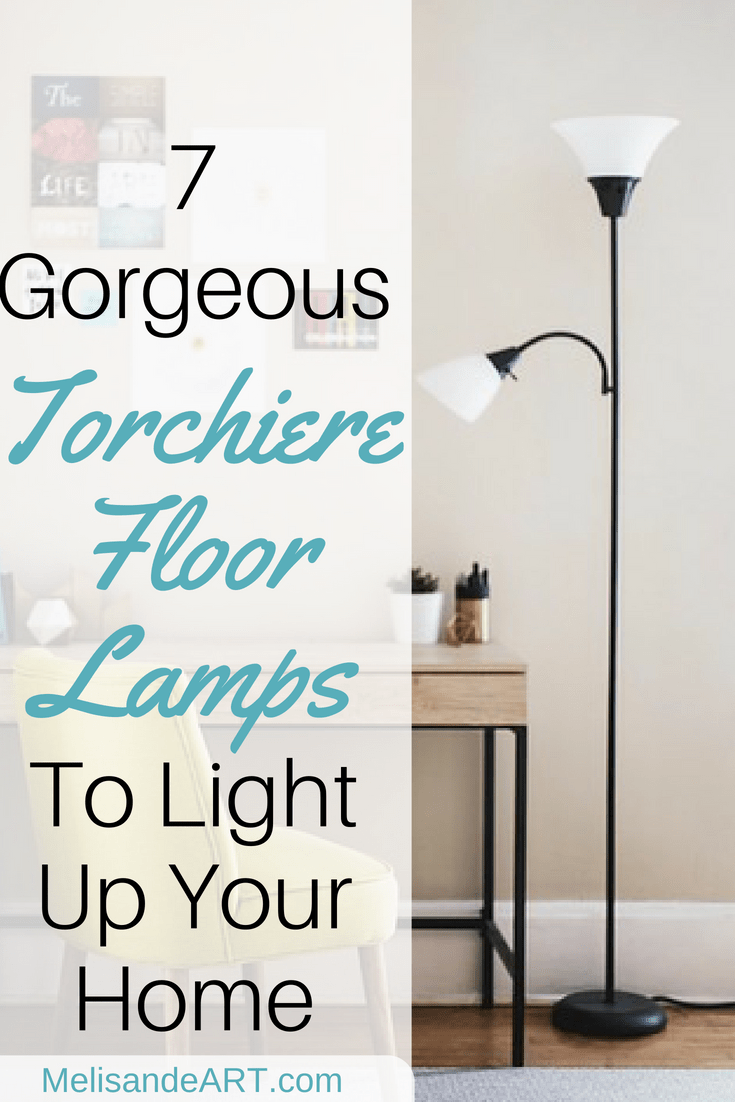 7 Affordable Torchiere Floor Lamps For Your Home Melisandeart Torchiere Floor Lamp Floor Lamp Makeover Lamp