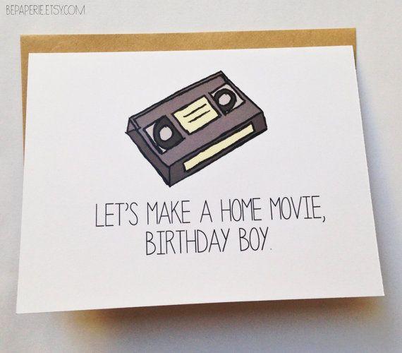 Naughty Birthday Card Funny Birthday Card For Him Sexy Birthday
