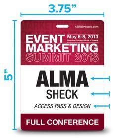 Aiga Pivot Conference Badges  Meet  Potatoes Meetings