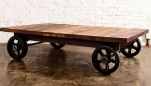 Coffee Table With Wheels Google Search