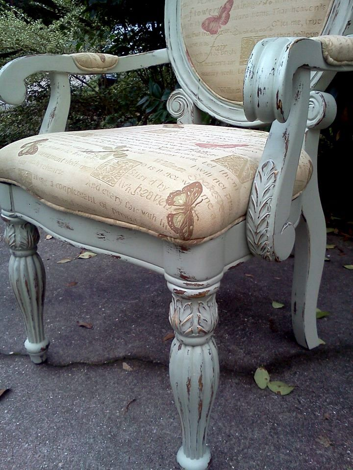 Queen Anne Chair Make Over Restore Me Furnishings Queen Anne Chair Chair Makeover Redo Dining Chairs