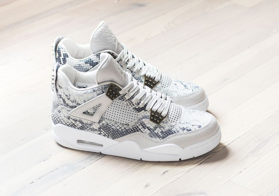 Who's Dropping $400 On The Air Jordan 4 PRM Snakeskin This Weekend? •  KicksOnFire.com
