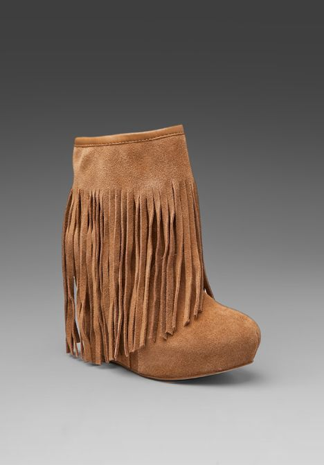 5f8efa61cf3 KOOLABURRA Veleta Fringe Wedge Boot in Chestnut at Revolve Clothing ...