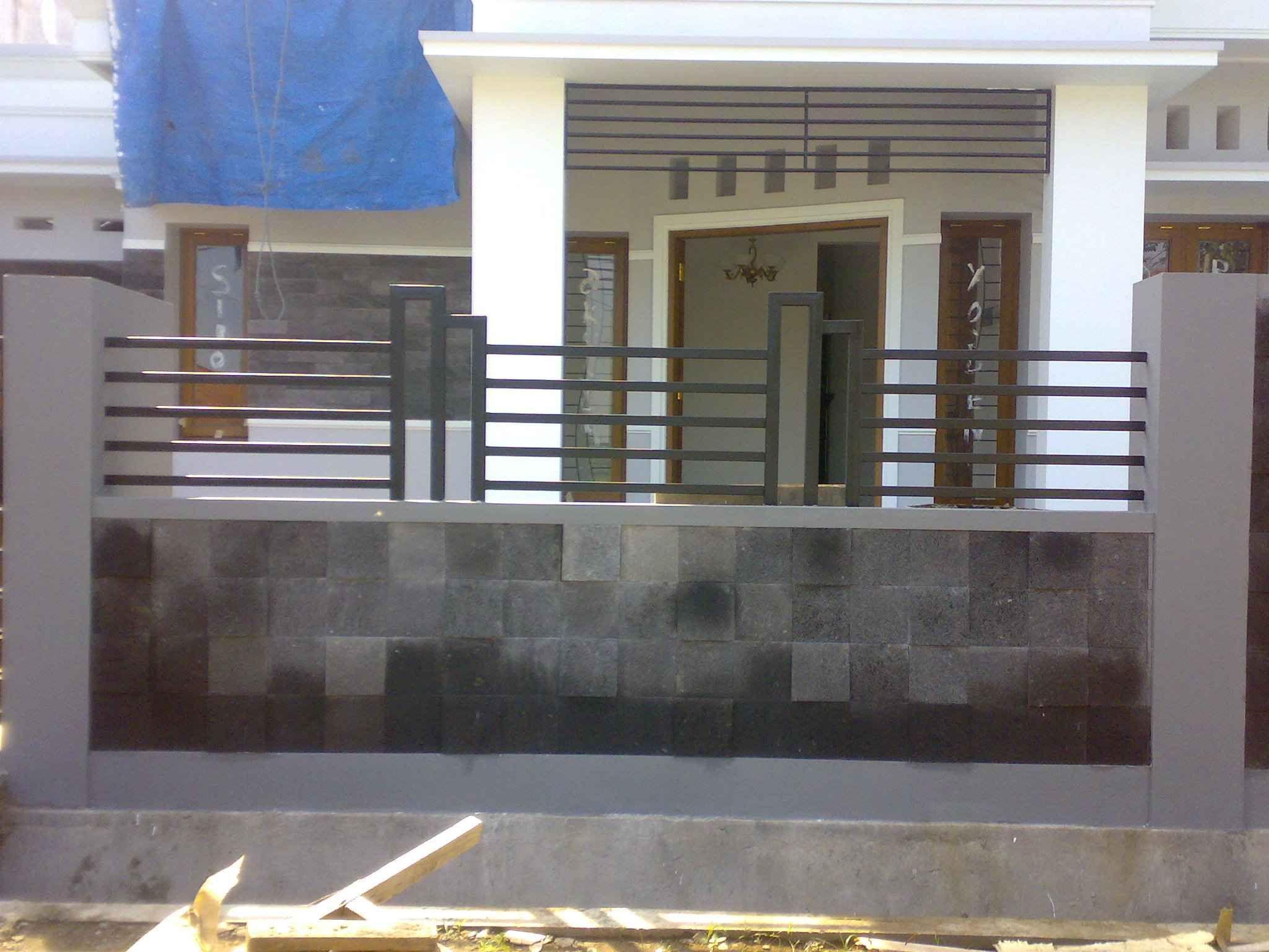 Desain Pagar Rumah Type 36 72 Model Rumah
