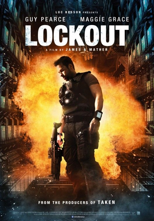 Guy Pearce in Lockout Great Poster