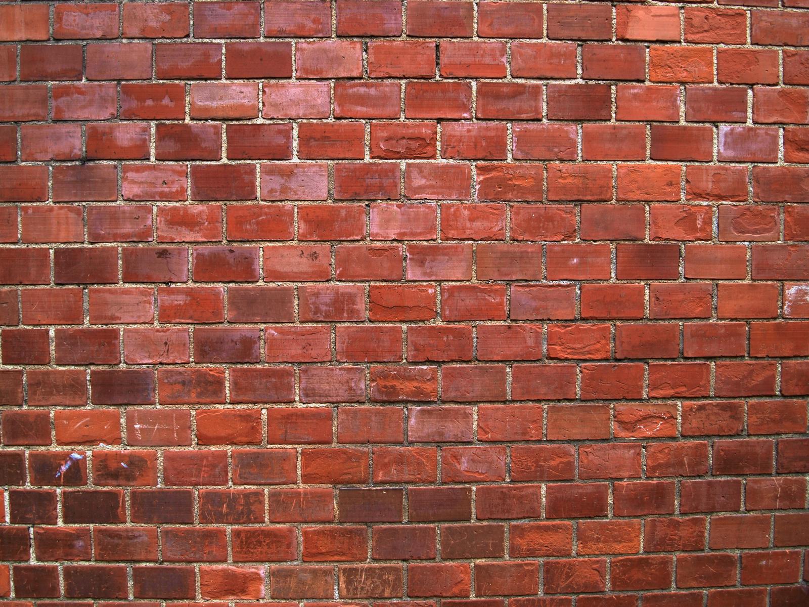 Old Brick Wall Decor : Variations of old red brick wall reusage