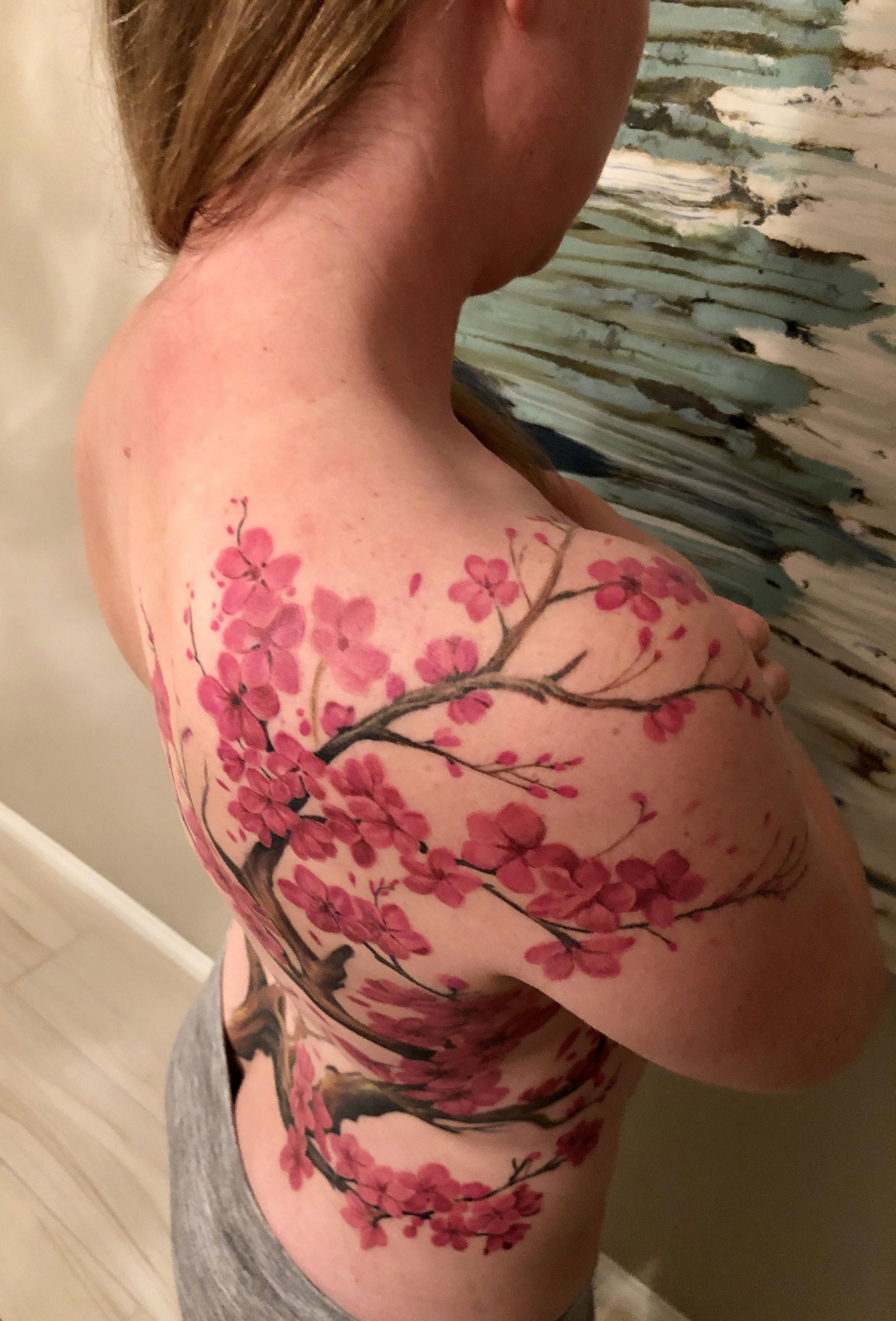 Pin By Xu Xan On Tattoos Something Different In 2020 Blossom