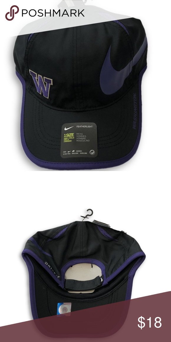 9b070c10 Washington Huskies Nike Dri-Fit Aeroknit Hat Washington Huskies Nike  Dri-Fit Aeroknit Featherlight Hat. Save money by bundling with other items  in my store.