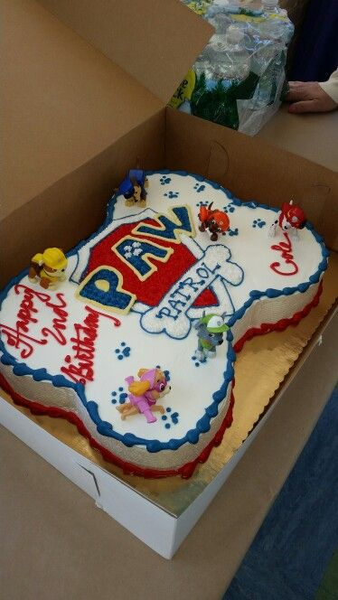 Paw Patrol Cake Recipes To Cook Pinterest Paw Patrol Cake - Paw patrol birthday cake