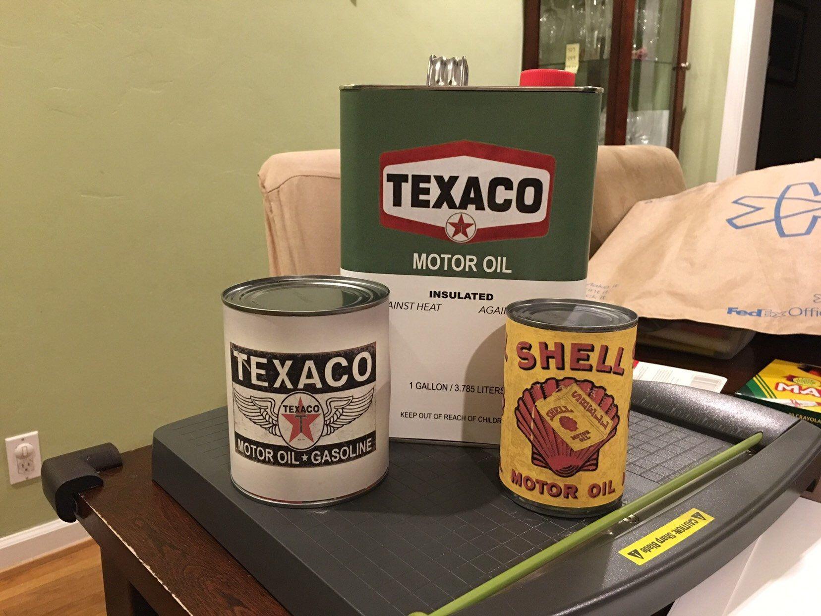 Vintage Oil Can Labels (set of 5 images!) in 2019 | Race Car