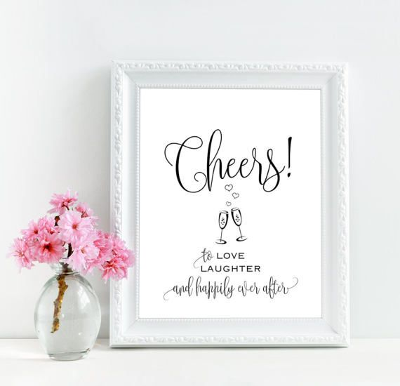 Download Cheers to love laughter and happily ever after, Cheers ...
