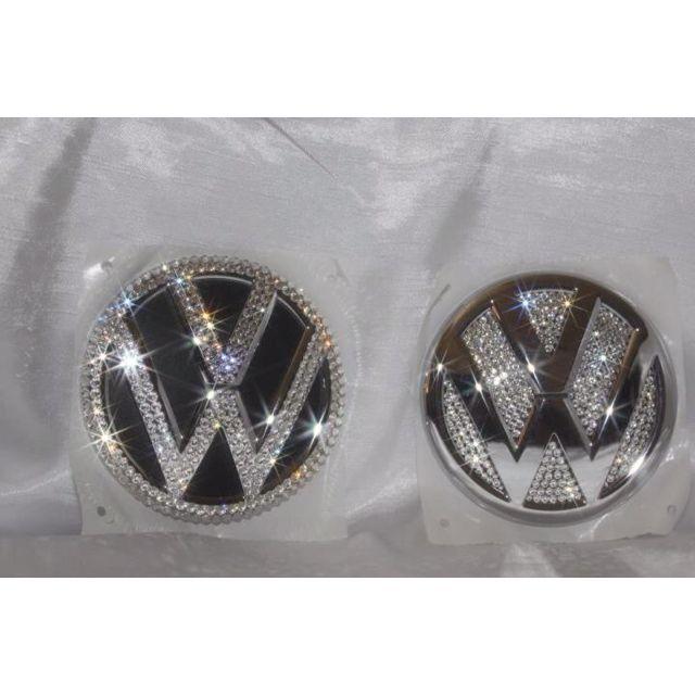 Devas Bling Volkswagen emblems