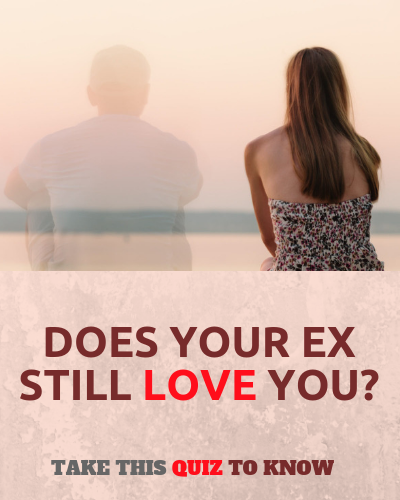 Do you still love your ex quiz