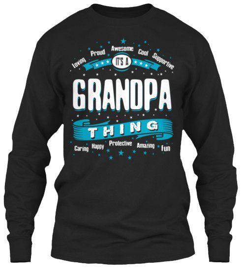 GRANDPA THING VINTAGE ~ Tees and Long-Sleeves