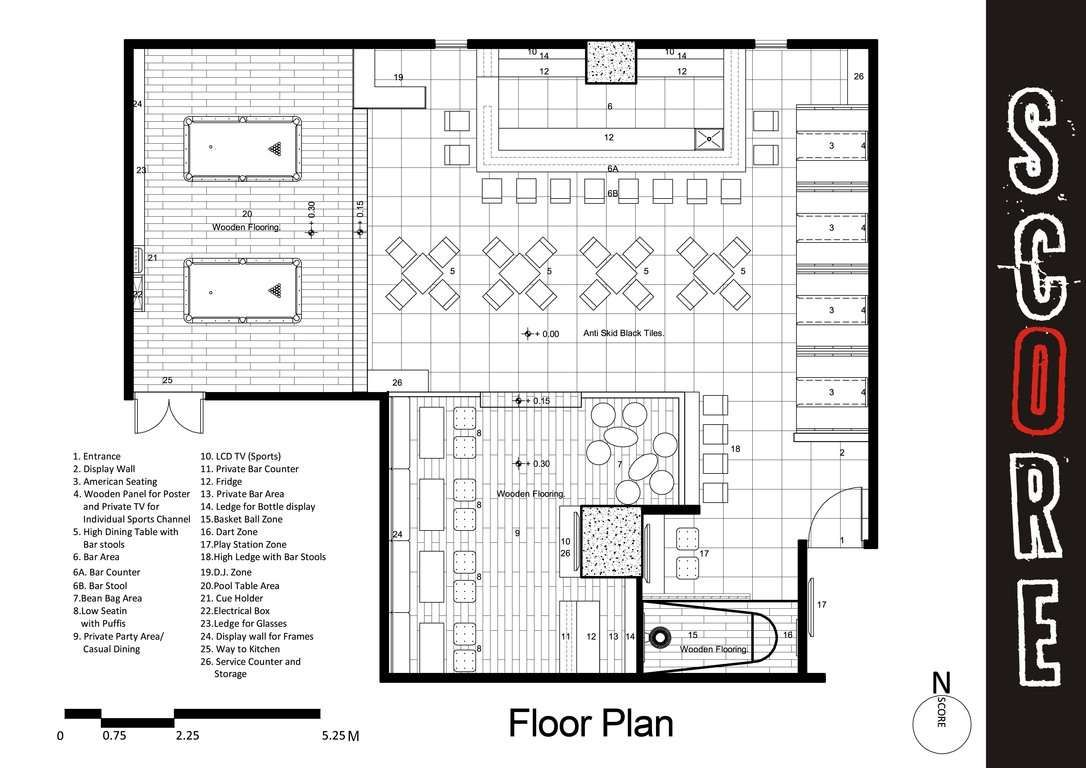 Small Bar And Grill Floor Plans Slyfelinos Simple Grill And Bar