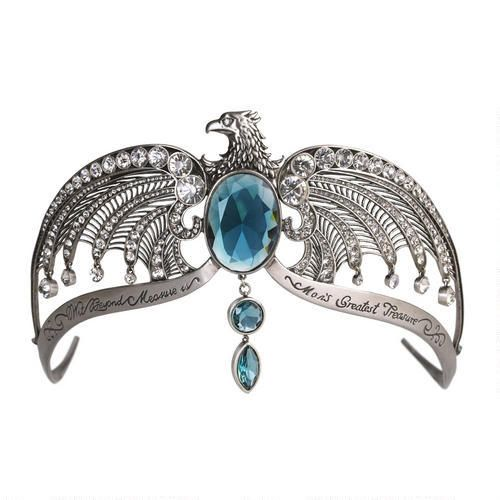 Replica of Rowena Ravenclaw's lost diadem at the Harry Potter Shop.