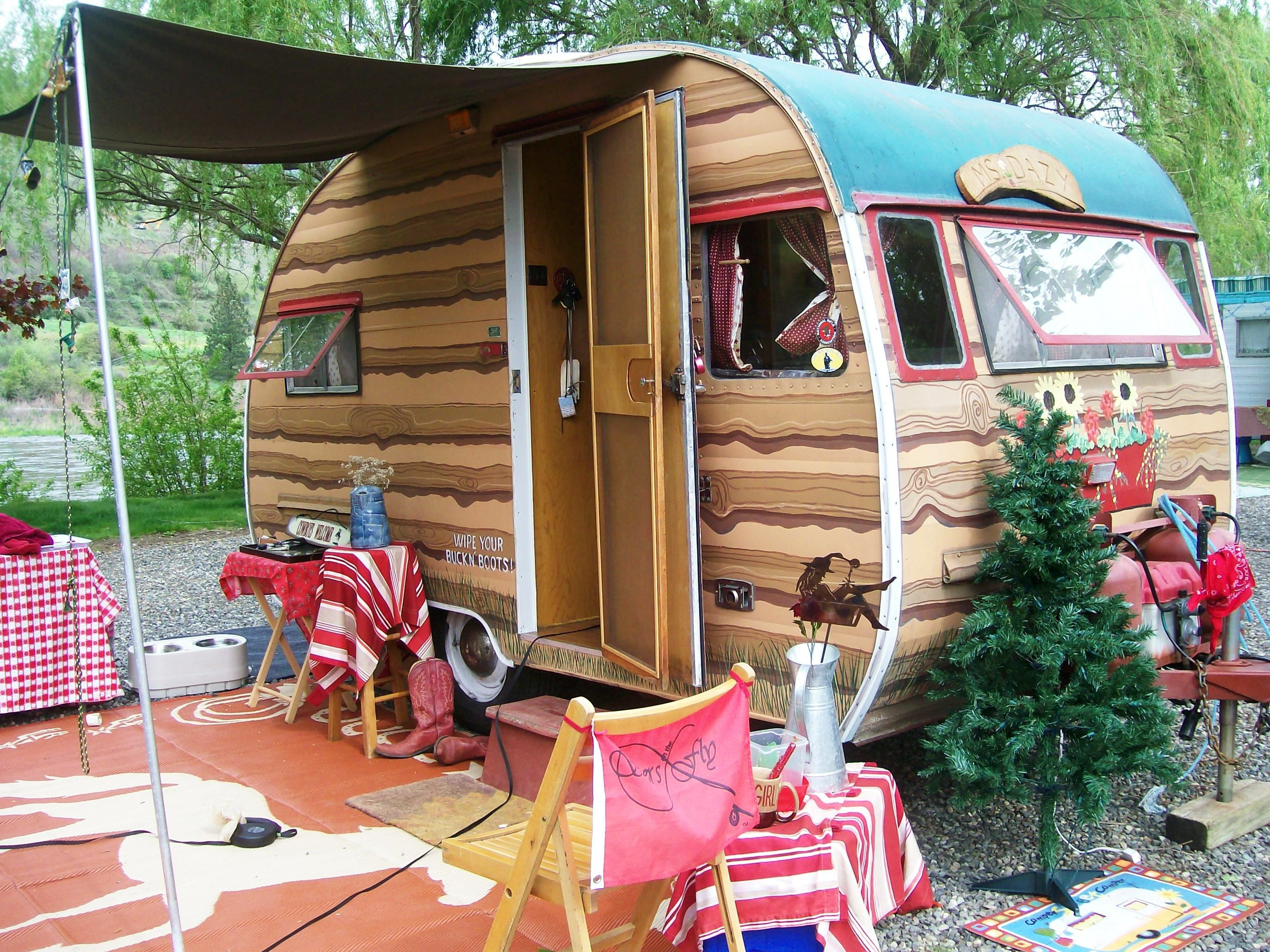 Vintage trailer buying tips from swiftwater rv park