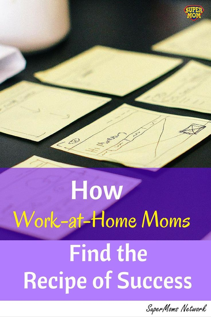 Success Leaves Clues And Successful Work At Home Moms Are Happy