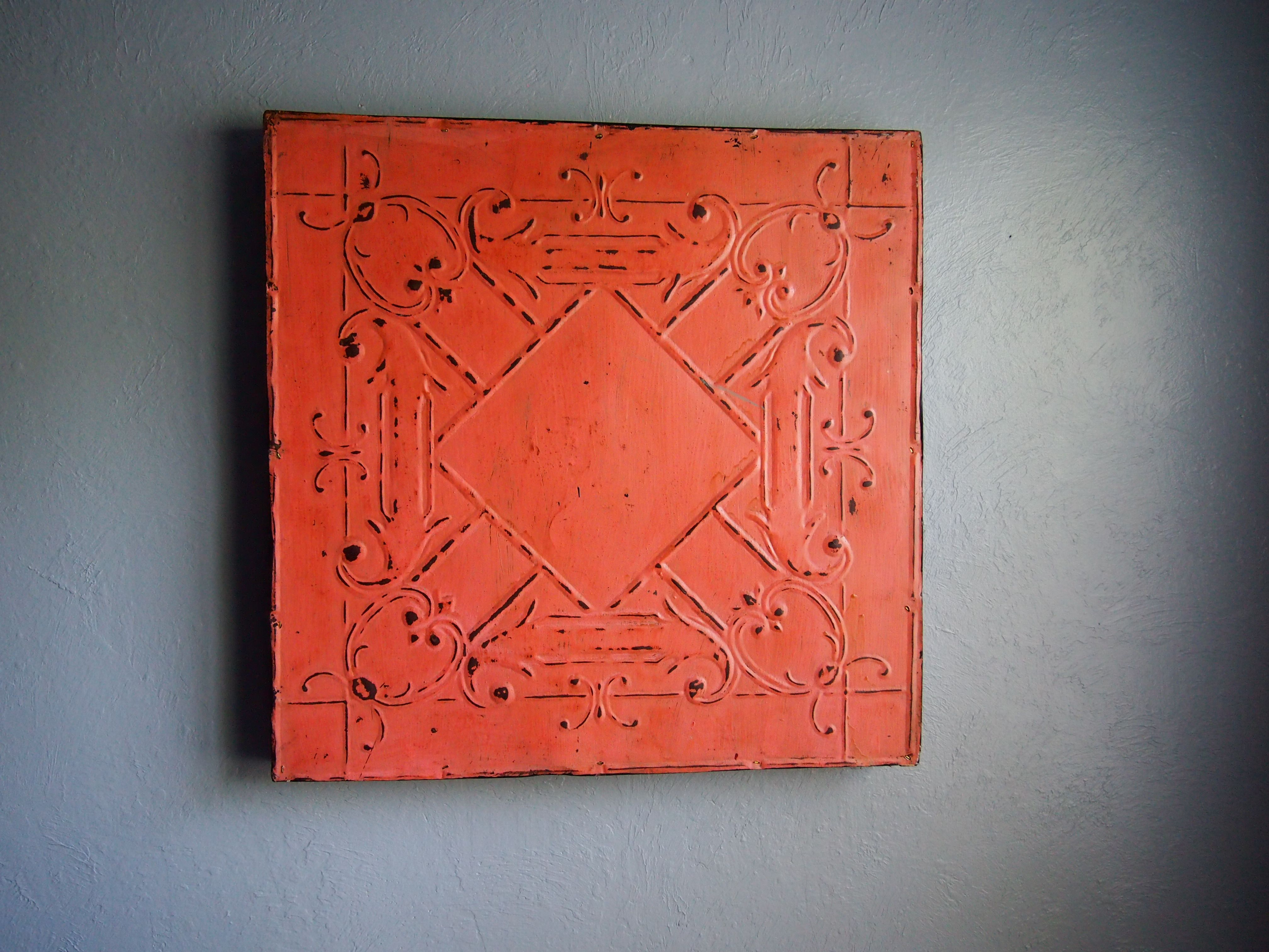 Coral colored ceiling tile coral a soothing color pinterest coral colored ceiling tile dailygadgetfo Choice Image