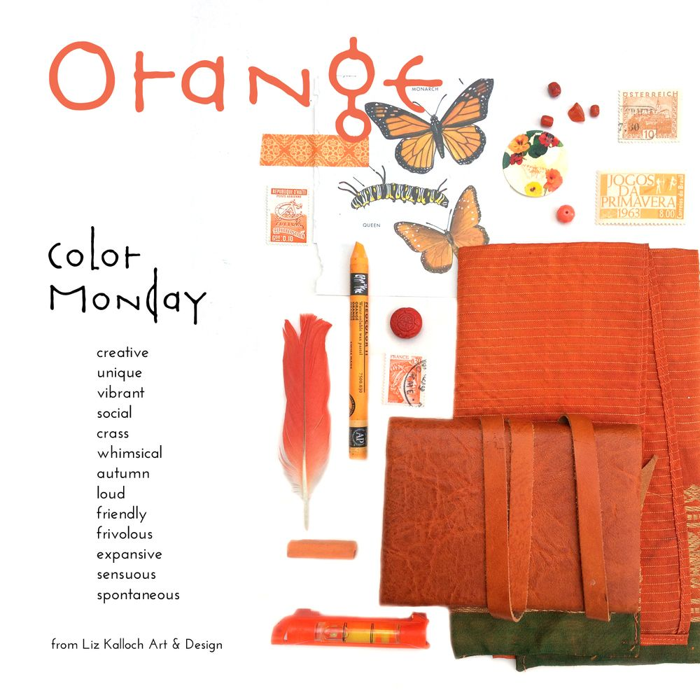 Orange Is Red Brought Nearer To Humanity By Yellow Kandinsky