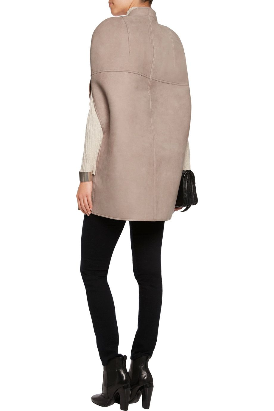 Shop on-sale Rick Owens Lilies suede cape. Browse other discount designer  Jackets &