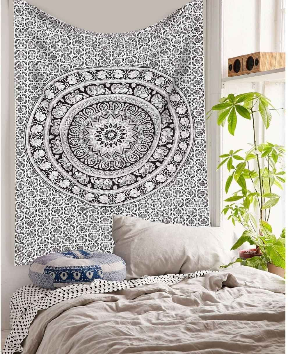 A tapestry that will turn your room into a bohemian hideaway.
