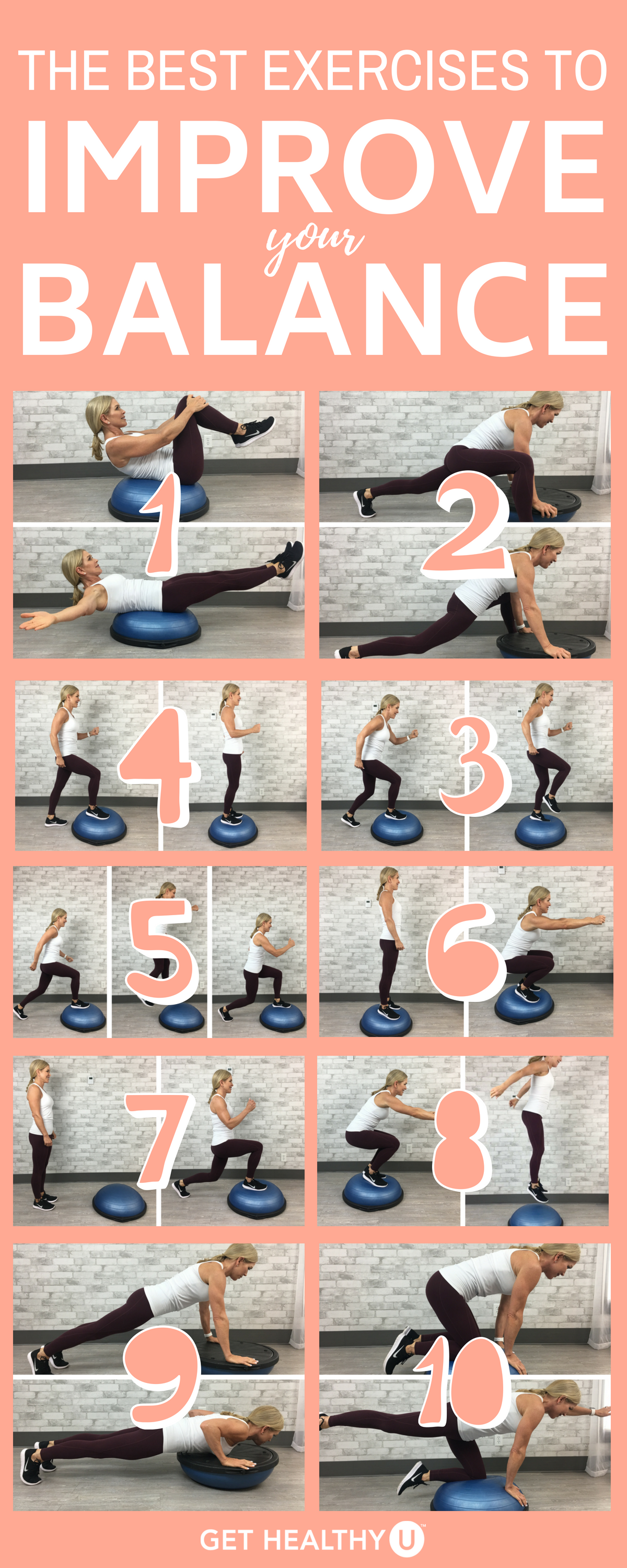 The Most Effective Ways To Improve Your Balance - Get Healthy U
