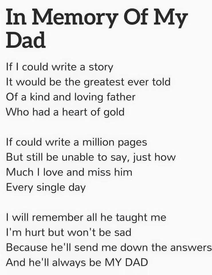 Miss my Dad more and more every day!!