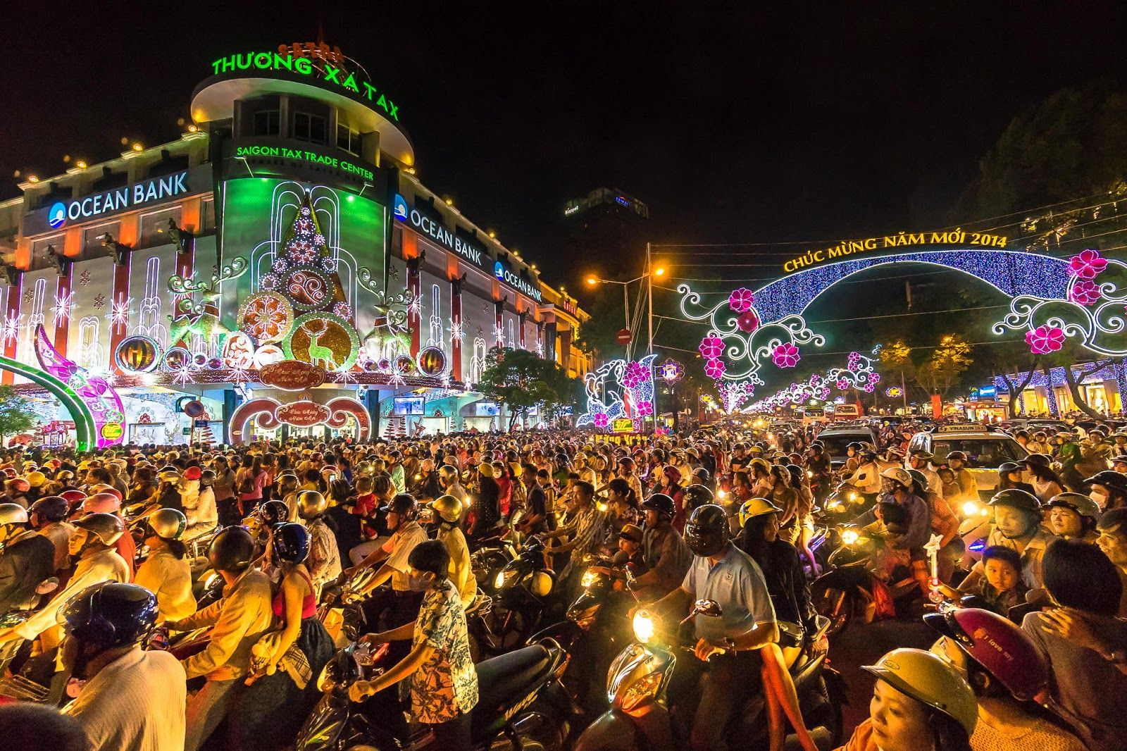 Image result for vietnam christmas""