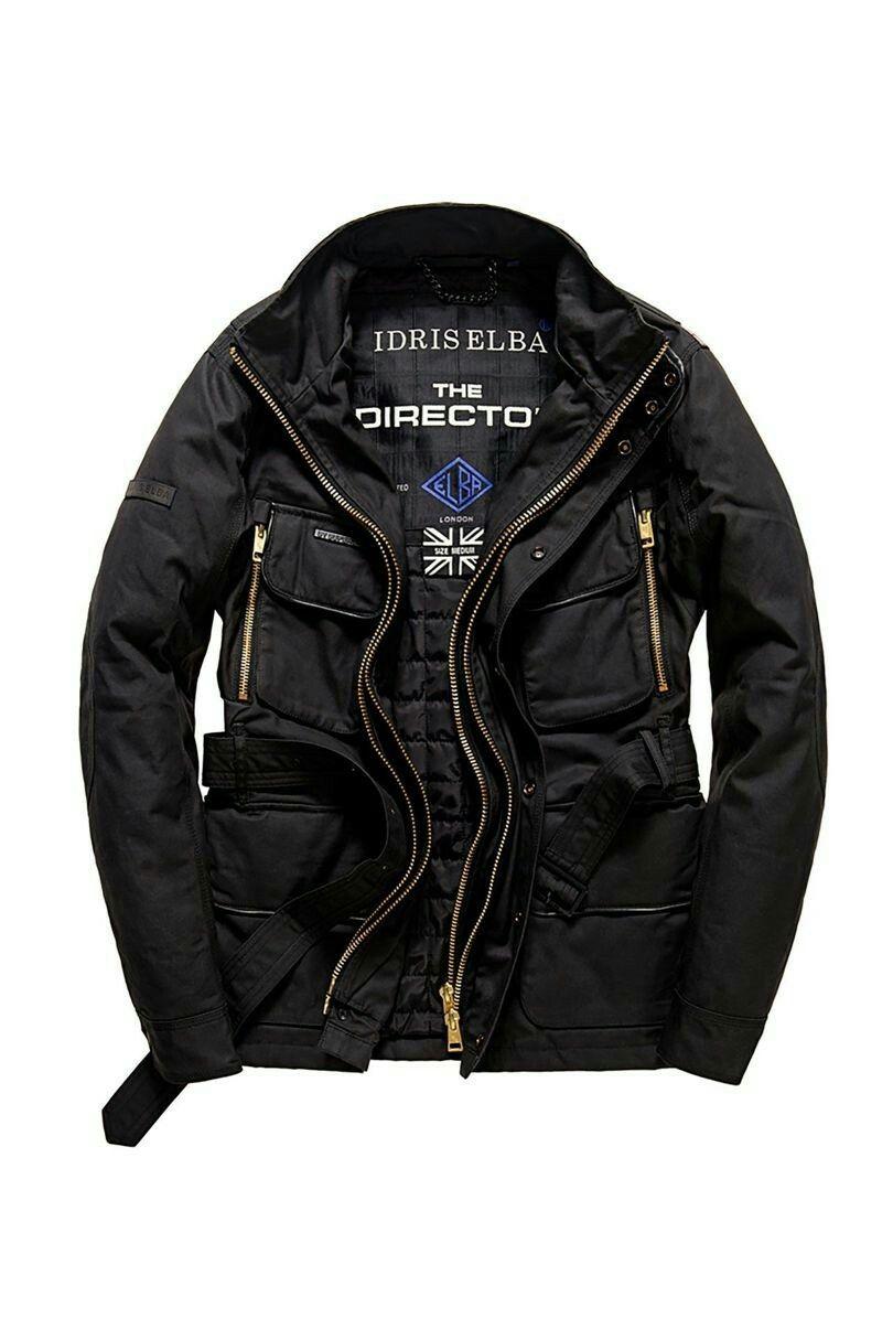 7cf455522f1c Gentleman Jacket Director Idris Motocykle The Elba Superdry nYOzSgvxq