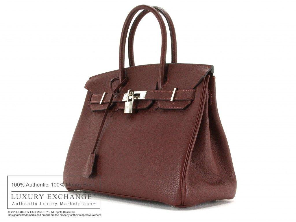 143318ae3e ... cheapest authentic hermes birkin 30cm bag prune fjord hermes luxury  exchange authentic luxury marketplace 61dbf f9284