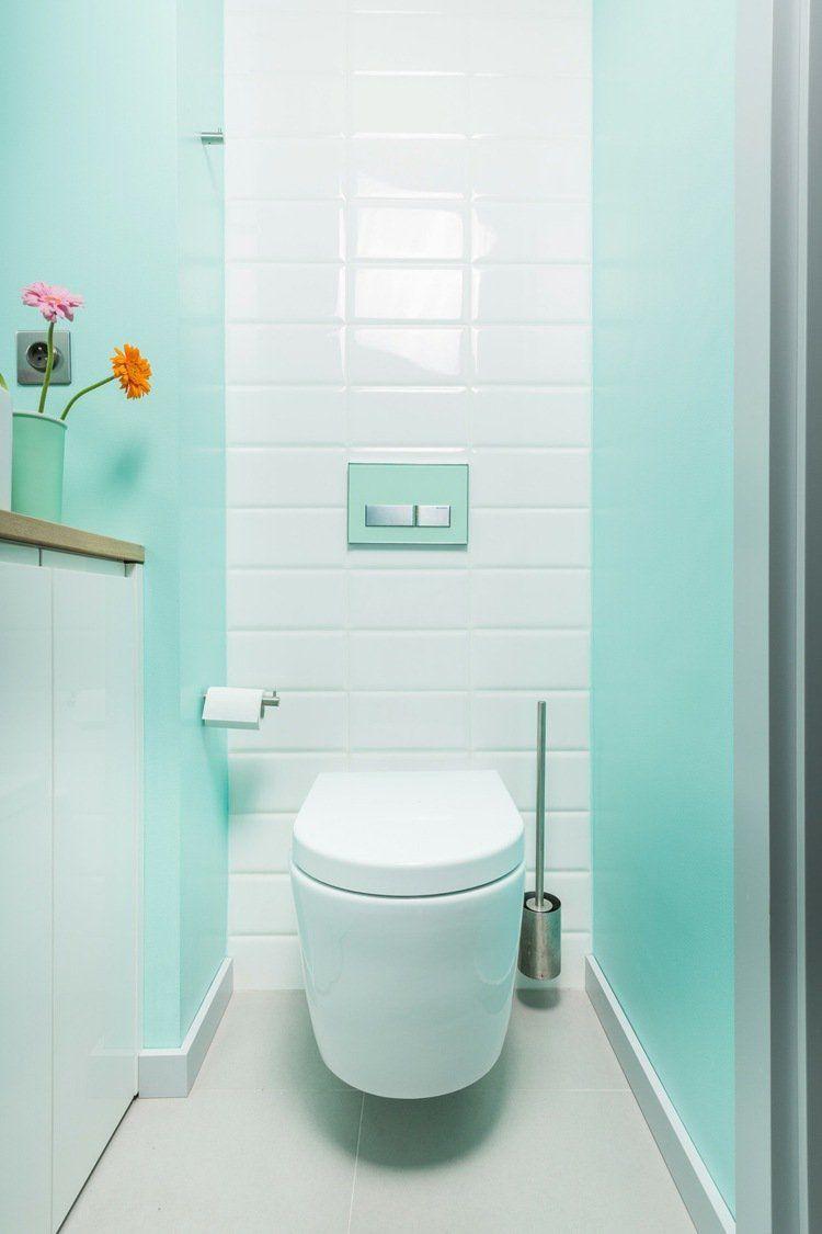 Carrelage Salle De Bain Bleu Turquoise couleur salle de bains – idées sur le carrelage et la