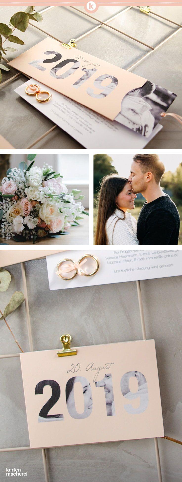 """Photo of Invitación de boda """"Durchblick 2019"""""""