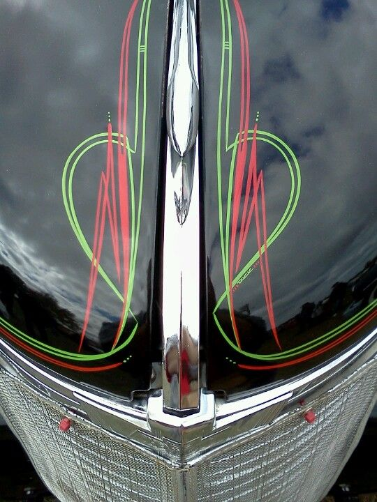 Classic Pinstripe Pinterest Pinstriping Kustom And Cars