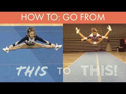 WHY YOUR CHEER JUMPS ARENT HYPER EXTENDED!! (it's not your flexibility) - YouTube #cheerworkouts