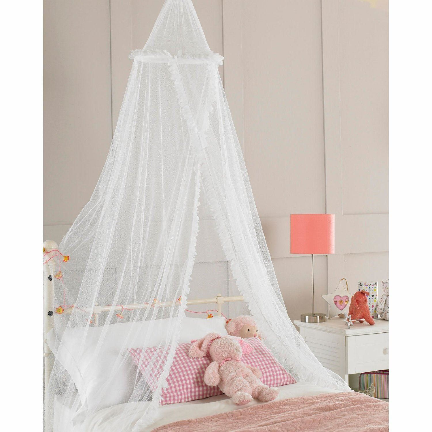 Room · Childrens Girls Bed Canopy ...  sc 1 st  Pinterest & Childrens Girls Bed Canopy Mosquito Fly Netting Net New 30x230cm ...