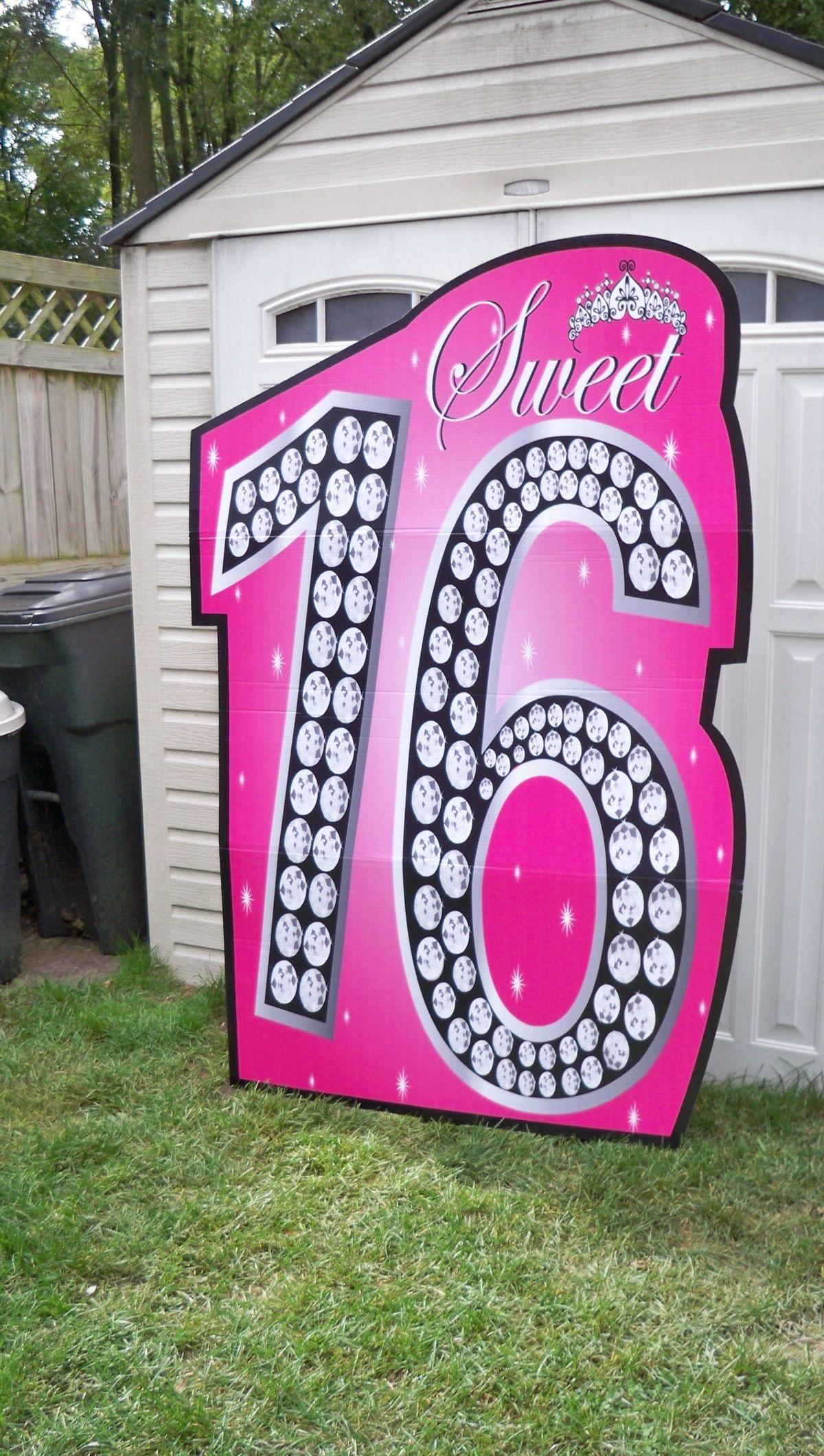 Sweet 16 background Party ideas Pinterest