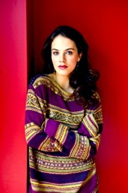 lady sybil and a cozy looking sweater