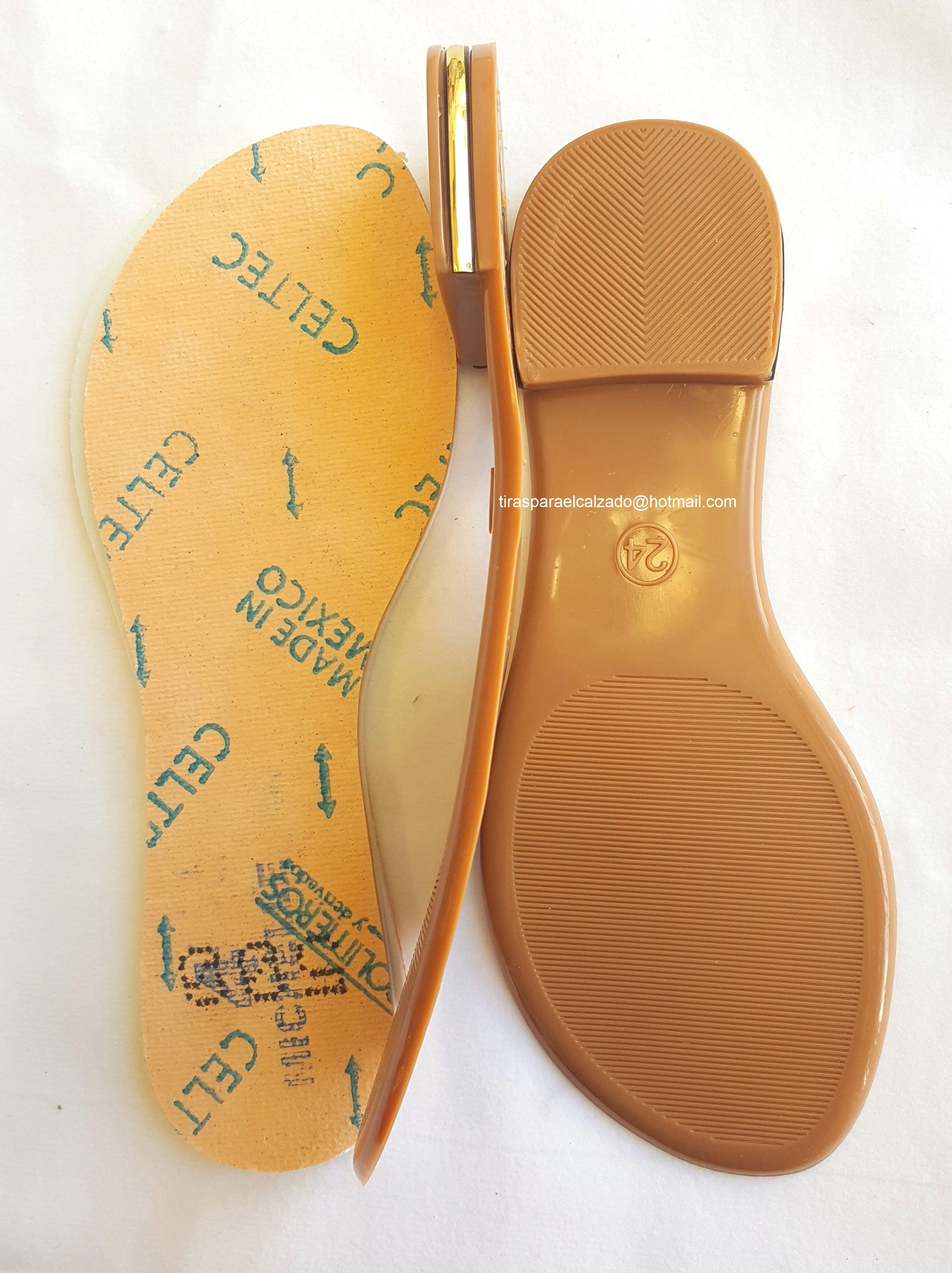 Suelas para Calzado   Calzas, Sandalias y Zapatillas