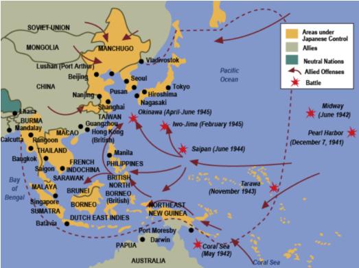 World War 2 Pacific | Okinawa: The Final Great Battle of World War ...