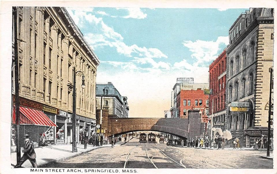 Downtown Springfield Street view, Historical facts, Photo